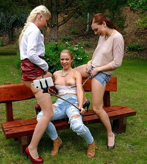 Sexy Hot Lesbian Threesome