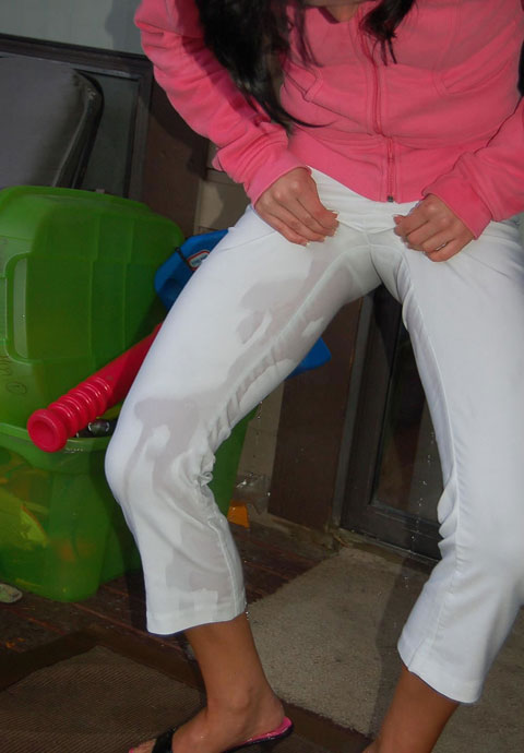 Wet Camel Toe