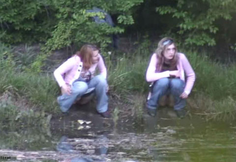 Pisshunters Pissing Movie peeing By The River