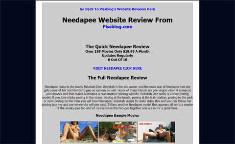 Needapee Website Review